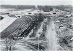 De Berekuil in aanleg, in 1973.